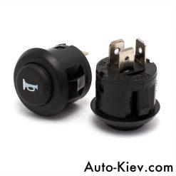 Выключатель звукового сигнала 2822.3710-03 (ВАЗ-2110, 2170). Кнопка зкукового сигнала без фиксации.