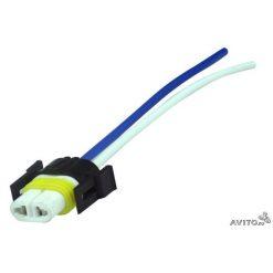 Разъем под лампу Н11 (керамика) с проводами
