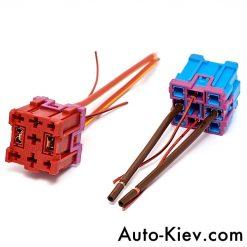 Разъем Audi, VW 443937527 реле с проводами оригинал