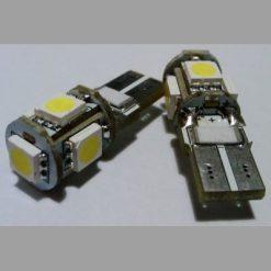 светодиод Т10 5smd5050 canbus с обманкой