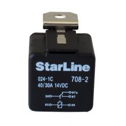 Реле 40А 12V StarLine 5 конт