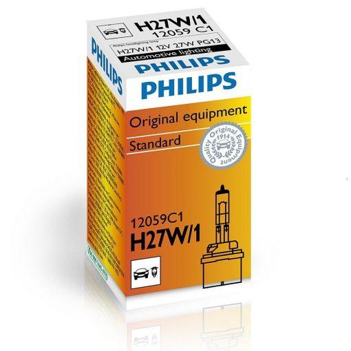 Philips 12059 H27W/1 27W 12v PG13 C1