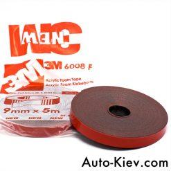 Скотч 3М профессиональный 8мм 5м Made in Germani 3M Automotive Acrylic Foam Tape серия GT6008