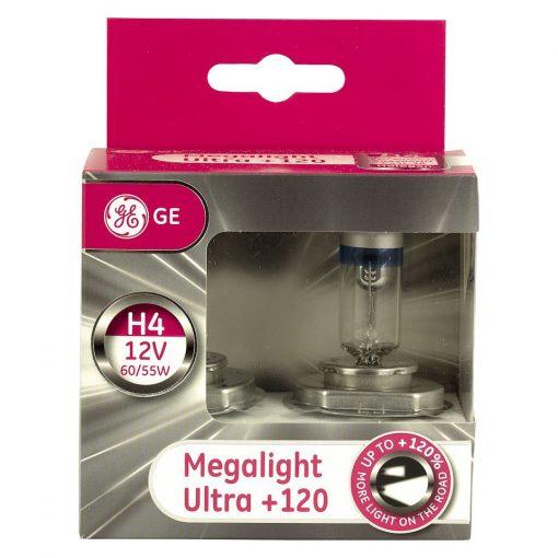 GE 50440snu H4 Megaliht Ultra +120%
