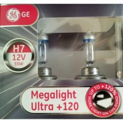 Автолампа GE 58520snu H7 Megaligt Ultra +120%
