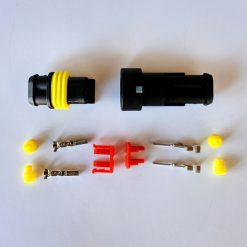 Разъем герметичный на 2 контакта без провода (к-т)