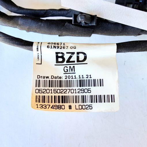 Жгут проводов OPEL 13374980 LD025 GM оригинал