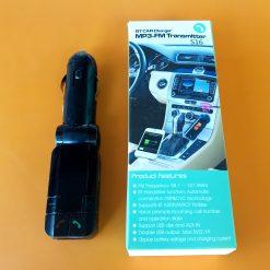Трансмитер FM-модулятор CM-S16BL + Bluetooth