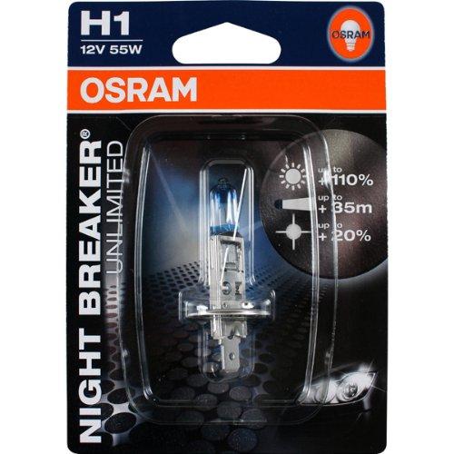 Osram 64150NBU H1 Night Breaker Unlimited +110%