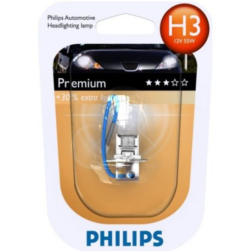 Philips 12336 H3 PR 55w 12v 55W PK22s B1