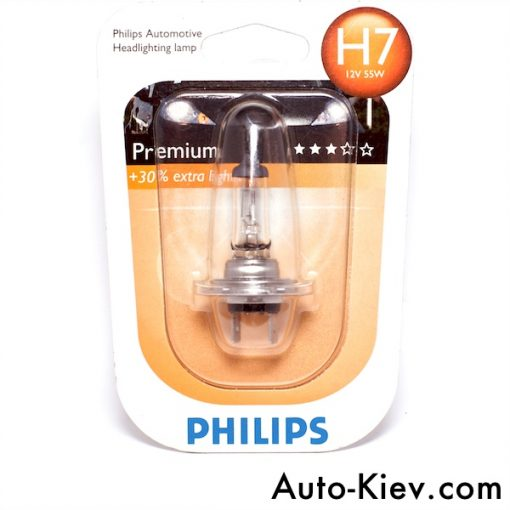Philips 12972 H7 PR 55w 12v PX26d B1
