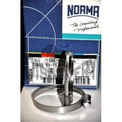 хомут NORMA W2 50-70/9 нержавейка ширина 9мм размер 50...70мм Германия