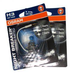 Osram 64151 NBU H3 Night Breaker Unlimited +110%