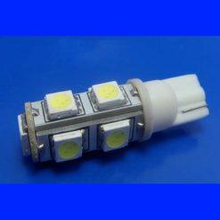 светодиод T10(w5w) 9smd 5050 12v