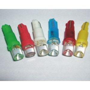 светодиод T5 1 led 12v (W2x4,6d)