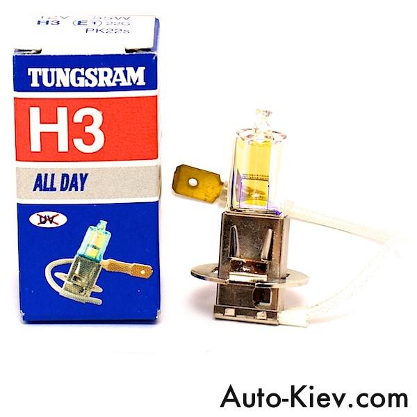 Tungsram 70340 H3 ALL DAY 55w 12v (всепогодка)