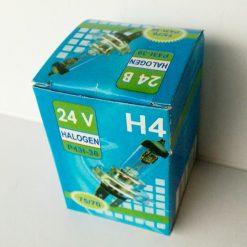 Автолампа АКГ 24-75+70-1 Н4 75/70w P43t 24v