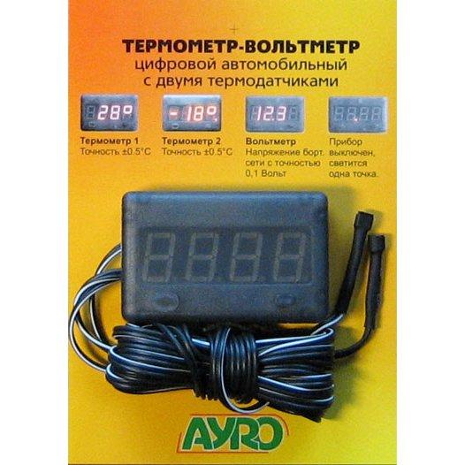 Установка автомобильного термометра своими руками 82