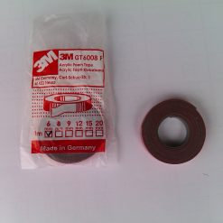 Скотч 3М профессиональный 6мм 1м Made in Germany 3M Automotive Acrylic Foam Tape серия GT6008