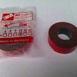 Скотч 3М профессиональный 12мм 1м Made in Germany 3M Automotive Acrylic Foam Tape серия GT6008