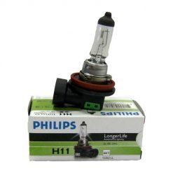 Автомобильная лампа Philips 12362LLECOC1 H11 LongLife 55w 12v PGJ19-2