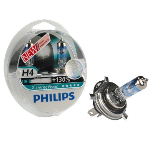 Автолампа Philips 12342XV H4 X-tremeVision S2+130%