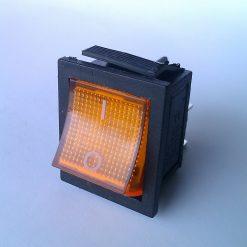 Выключатель врезной цветной с подсветкой