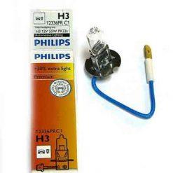 Philips 12336 H3 PR 55w 12v 55W PK22s