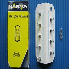Narva 17073 2,3W 12v W2x4,6d