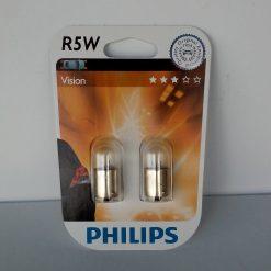 Philips 12821 R5W 12v BA15s B2 2шт блистер