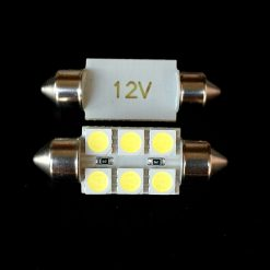 Автолампа Festoon 13x36 LED 6smd 5050 SV8,5 12v 350Lm. Производитель Crystal-Light