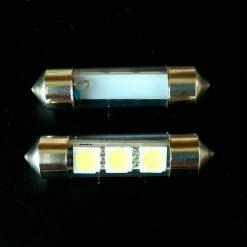 Автолампа Festoon 8×36 LED 3smd 5050 SV8,5 12v 90Lm в стекле
