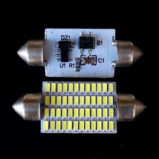 Festoon 16x41 LED 48smd 3014 SV8,5 12v драйвер