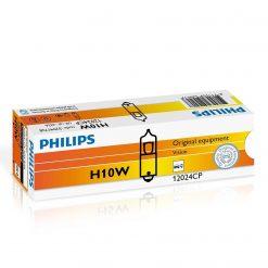 Philips 12024 H10 BA9s 12v