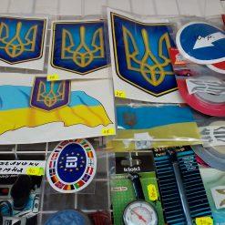 Наклейки с Украинской символикой альбом 3
