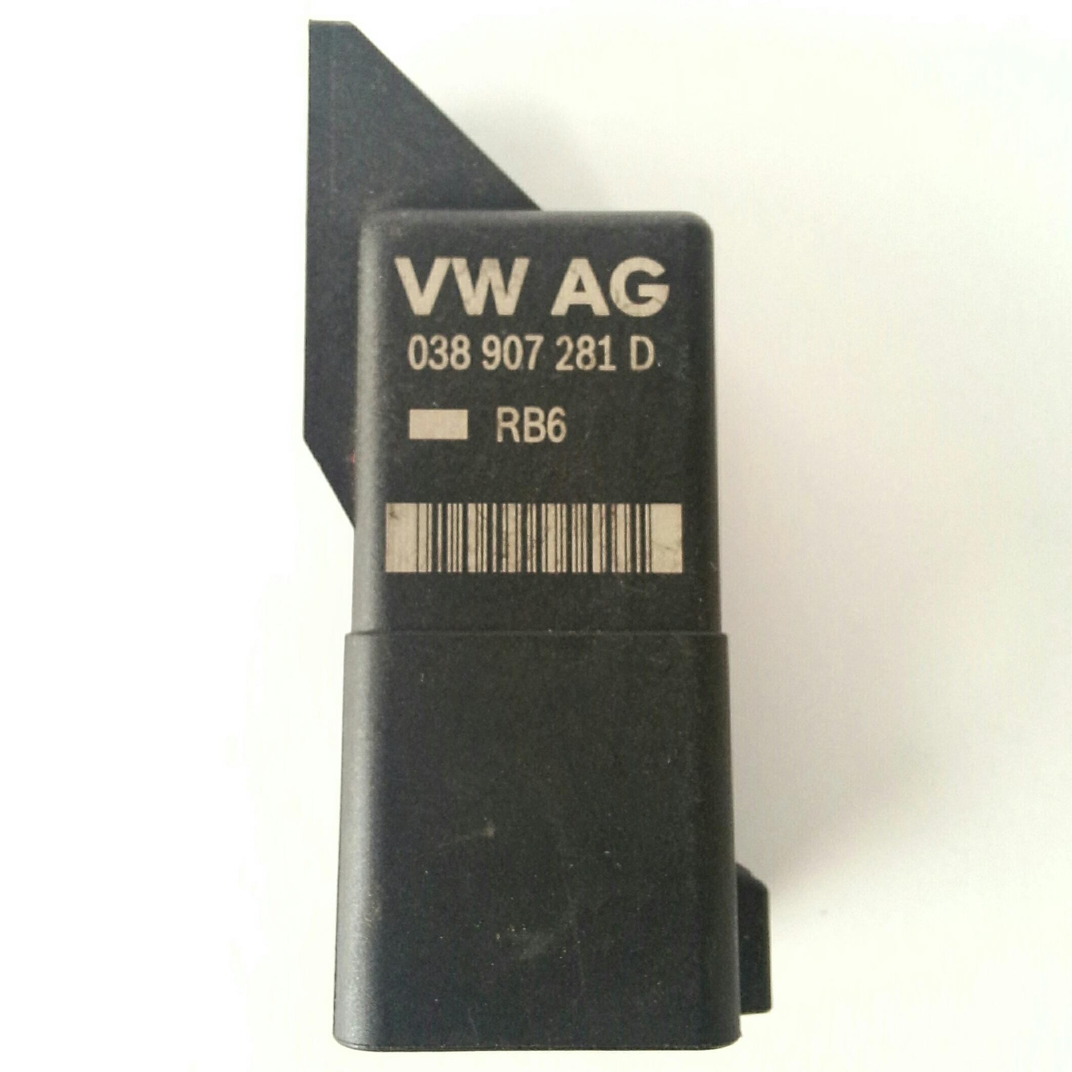 Реле свеч накала BOSCH 0 281 003 038 VW AG 038 907 281 D Блок управления - реле свечей накала VW Т4 / Т5 Made in Malaysia