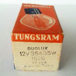 DUOLUX S2 35/35w 12v BA20d мотолампа