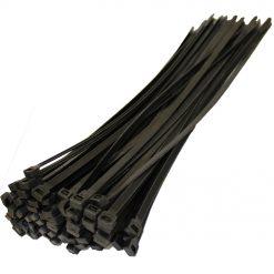 Хомут пластиковый 300х3,6 (бел. черн) уп. 100шт. Bosma Electric Польша