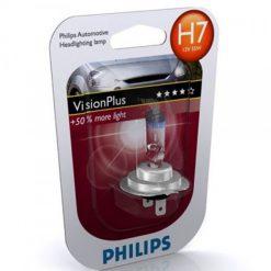 Philips 12972VPB1 H7 VisionPlus 55w 12v PX26d (+50%) блистер