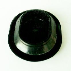 Заглушка овальная AXQ1A >TEEE< Наружный размер 30х24мм пластик