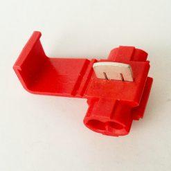 Колодка соединительная (коннектор) под провод 0,5_0,75мм.кв. красная