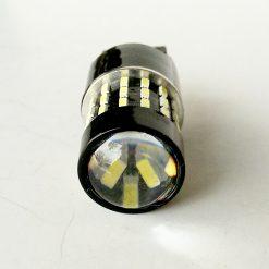 Светодиод W21/5W(W3*16d) 54smd 3014 линза, может работать вместо W21W