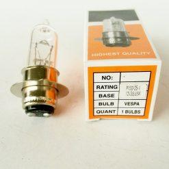 мотолампа Китай 12V 35/35W P15d-25-1 однолепестковая галоген