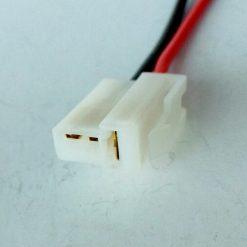 Разъем мотора омывателя ВАЗ 2108-2110 2 контакта Т-образный