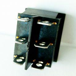 Кнопка стеклоподъемника широкая черная