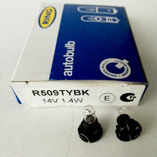 автолампа RING 509TYBK 14v 1.4w T5 (Black Base) Panel Bulb - указательная автомобильная лампа