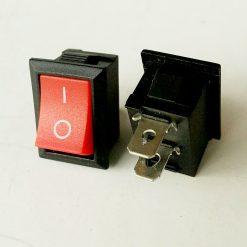 Выключатель врезной мини. Окно под установку 12*15мм. Серия переключатель KCD5-101