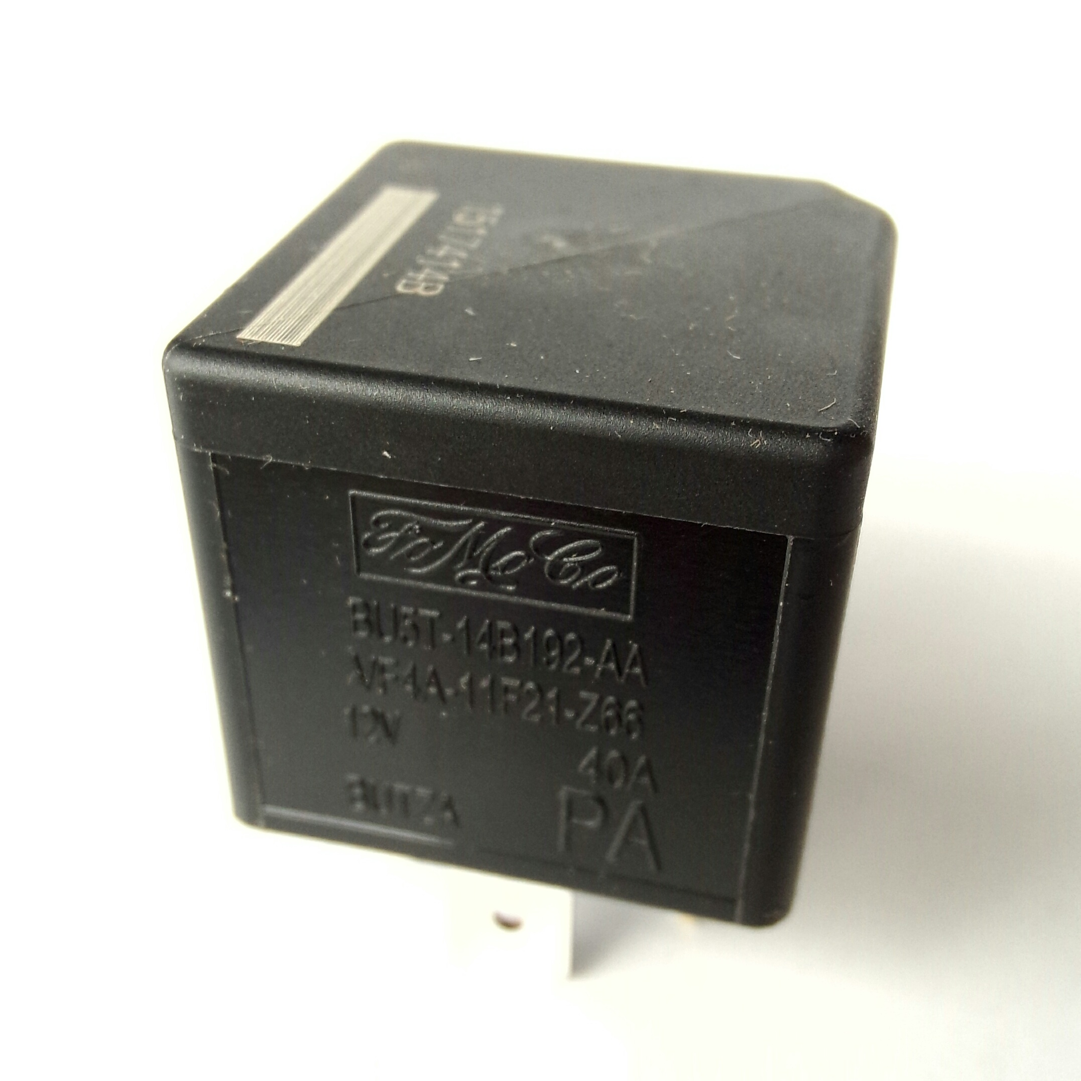 Реле 40А 12V FORD BU5T 14B192 CA VF4A-11F21-Z66 12V 40A BUTZA PA Made in Portugal