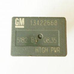 Реле 20А 12V GM 13422668 мини 4 контакта. Made in China