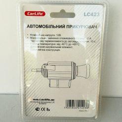 Прикуриватель в сборе STANDART с подсветкой CarLife LC423 Made in P.R.C.